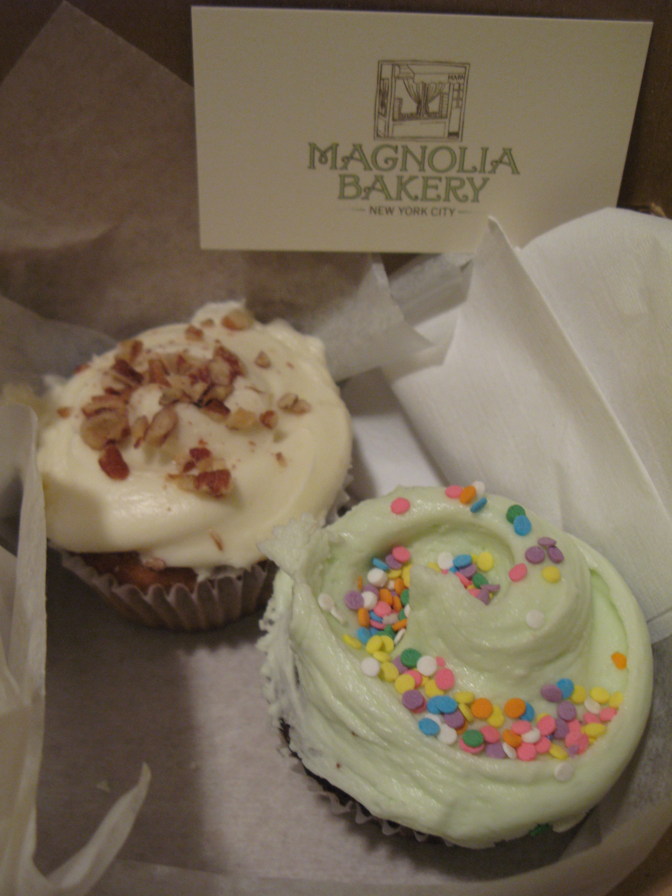 Magnolia Bakery cupcakes