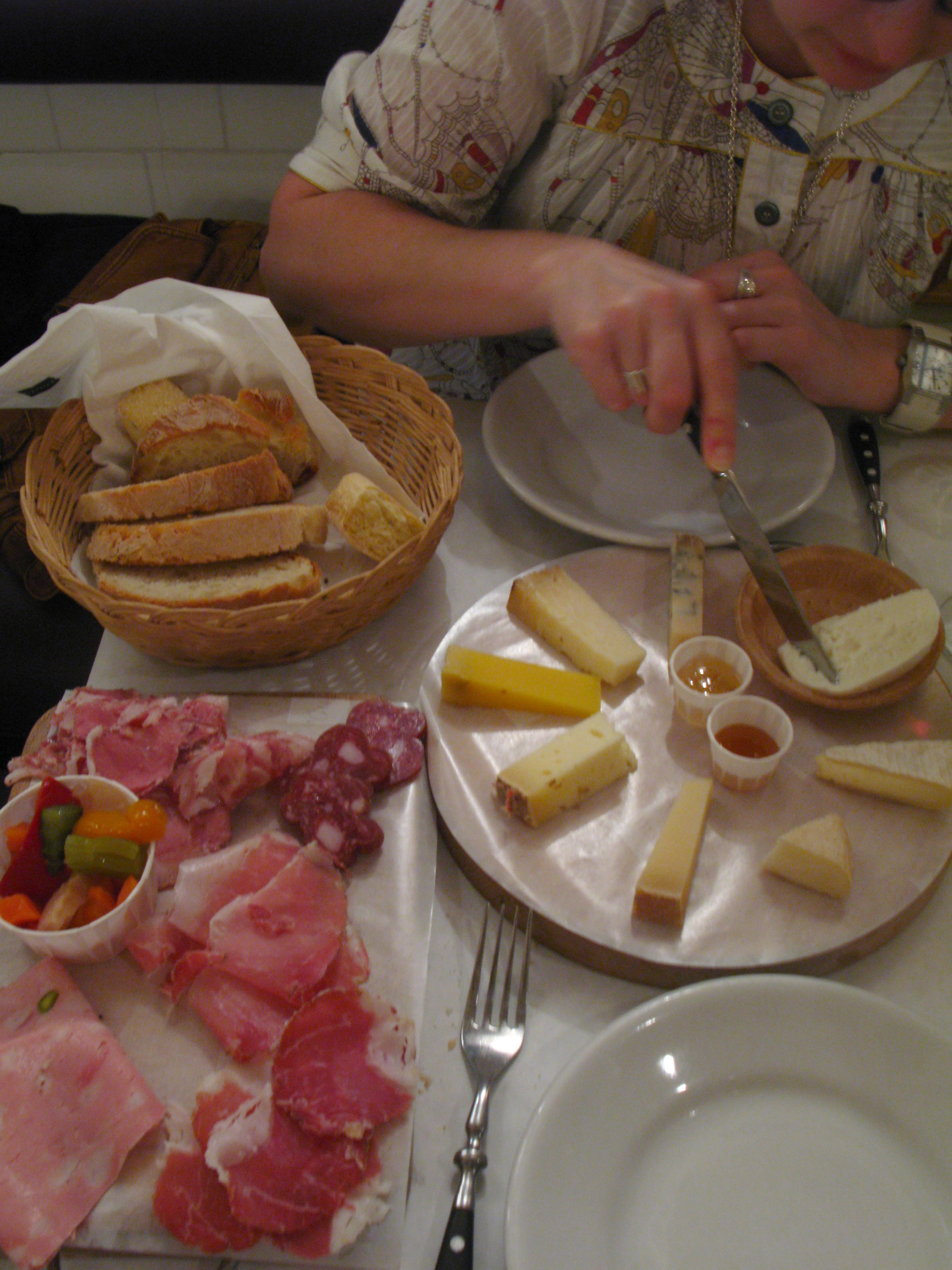 Cheese in Rome
