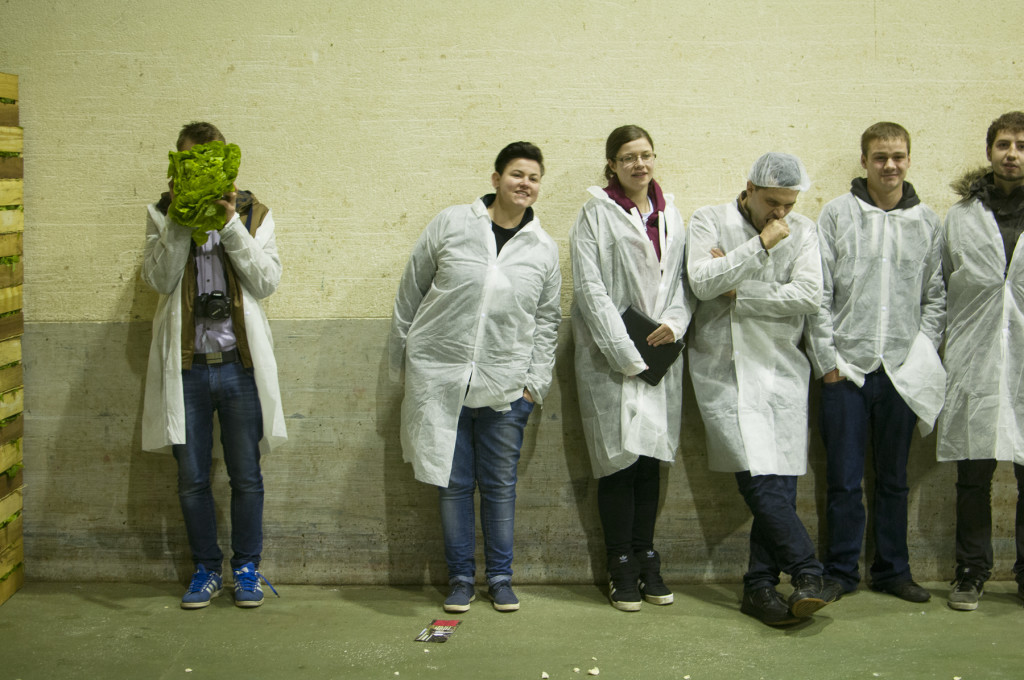 The Budding Chefs in France, November 2014